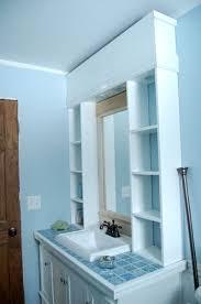 wood bathroom mirror digihome weathered: fashionable bathroom vanity mirrors with storage mirror for over wonderful inspiration bathroom vanity mirrors with storage home bathroom vanity mirrors
