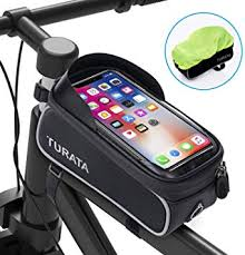 TURATA <b>Bike</b> Bags <b>Bicycle</b> Front Frame Bag <b>Waterproof</b> Handlebar ...