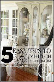 ideas china hutch decor pinterest: copy of how to style a hutch easy and doable ideas to style like a
