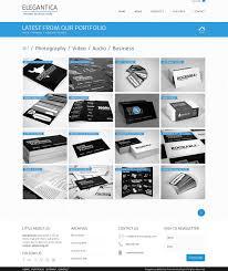 bie column portfolio template for business theme 4 column portfolio template for business theme license