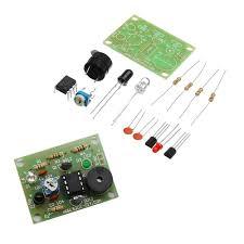 <b>3pcs DIY Sound</b> Light Infrared Sensor Anti-theft Alarm Switch Kit ...