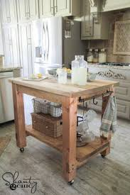 island design ideas designlens extended: diy mobile kitchen island love the rustic look free plans amp tutorial at shanty