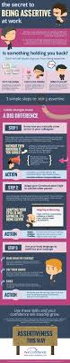 being assertive the ultimate guide by think confidence 3 simple steps to being assertive infographic