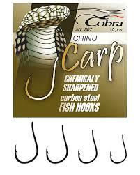 Купить <b>Крючки Cobra Carp</b> Chinu C807NSB-001 за 35 руб ...