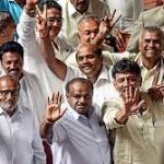 Karnataka drama ends Kumaraswamy sails
