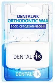 <b>Dentalpik воск для брекетов</b> Нейтральный — купить по выгодной ...