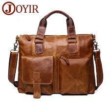 <b>JOYIR Genuine Leather</b> Shoulder Bags Leather <b>Men</b> Messenger ...