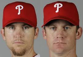 View full sizeAP File PhotosBrad Lidge, left, and Roy Oswalt did not have their options picked up for contract year 2012 by the Philadelphia Phillies. - brad-lidge-and-roy-oswalt-8d2501bce27b023a