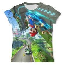 """Мужские <b>футболки</b> c популярными принтами """"mario"""" - <b>Printio</b>"""