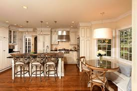 modern kitchen cabinet hardware traditional: cabinets american post modern style kitchen kitchen banquette with round table and drum chancelier also restoration hardware bar stools with