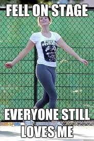 Carefree Jennifer Lawrence memes | quickmeme via Relatably.com