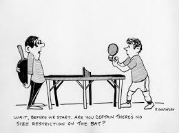 Bilderesultat for table tennis referee funny