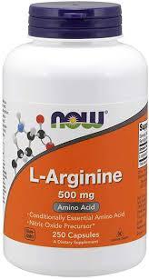 NOW Supplements, L-Arginine 500 mg, Nitric Oxide ... - Amazon.com