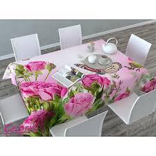 """Скатерть 3D """"<b>Стайка бабочек</b> на розах"""", розовая купить в ..."""