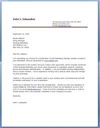 cover letter examples universal cover letter samples