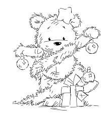 <b>Cartoon bear</b> stamp <b>Clear</b> Stamp for Scrapbooking <b>Transparent</b> ...