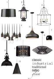 roundup of black pendants for your kitchen decor black pendant lighting