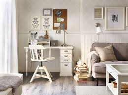 a corner in the living room with a white desk and a swivel chair amazing choice home office gallery office furniture