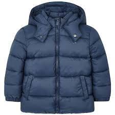 <b>Демисезонная куртка Mayoral</b> детская Стальная синяя 41277