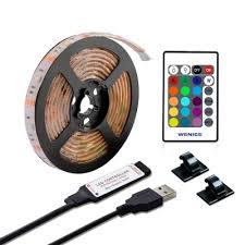 String & Fairy Lights <b>USB</b> Powered <b>RGB</b> 5050 IP65 <b>5V</b> Waterproof ...