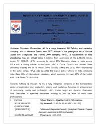 mba jobs in hpcl 2017 2018 studychacha for your help i am attaching a giving a pdf file it so you can get details for recruitment of officer trainees qc operations hr and officers is