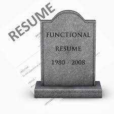 the functional resume is dead the resume place the functional resume is dead