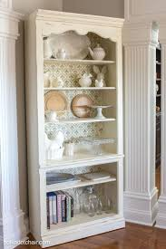 images chalk paintar cabinets pinterest diy stenciled bookcase project she painted the bookcase with chalk pai