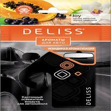Каталог <b>Ароматизатор Deliss картонный</b>, <b>серия</b> Joy от интернет ...