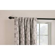 Hidden Tab Curtains Shop Style Selections Barrett 84 In Linen Polyester Back Tab Room