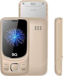 Мобильный <b>телефон BQ 2435</b> Slide, золотой — купить в ...