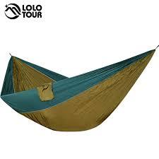 Single Double <b>Camping Hammock</b> Tent <b>Lightweight Portable</b> For ...