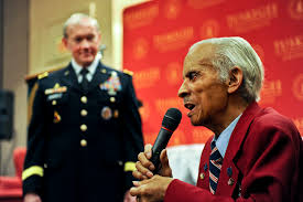 u s department of defense photo essay retired tuskegee airman lt col herbert carver addresses the audience as army gen