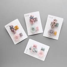 <b>New Fashion Shiny</b> Star Hair Clip Net Yarn Hairpin For <b>Baby</b> Girl ...