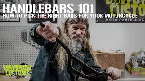 Lowbrow Customs - <b>Motorcycle Handlebars</b> 101 - YouTube
