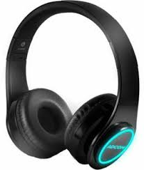 Adcom Luminosa Wireless Bluetooth <b>Led Over Ear Foldable</b> ...