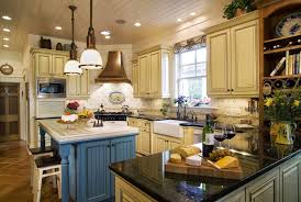 French Country Kitchen Blue French Country Kitchen Pictures To Pin On Pinterest Pinsdaddy