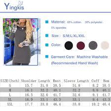 Yingkis Womens Long Sleeve Plaid Hoodies Tunic Tops <b>Button</b> ...