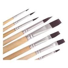 <b>6</b>-<b>Piece</b> Fine Paintbrushes,Handmade Paint Brush Set - For ...