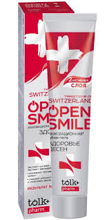 TOLK <b>Зубная паста</b> Traditions Of Switzerland <b>Open Smile</b> ...