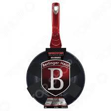 <b>Сковорода вок Berlinger Haus</b> Black-<b>burgundy</b> Metallic купить по ...