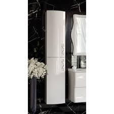 Шкаф-<b>пенал Aima Design</b> Amethyst 30П L white, выпуклый, цена ...