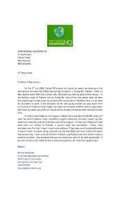 job volunteering letter volunteer verification letter