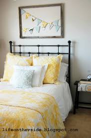 yellow and gray bedroom:  images about girls bedroom redo on pinterest twin colors and gray