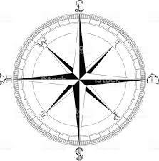simple clean currency compass stock vector art istock simple clean currency compass royalty stock vector art