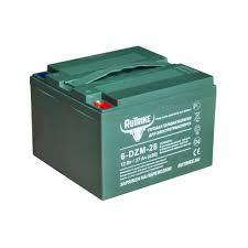 Тяговый гелевый <b>аккумулятор RuTrike</b> 6-EVF-120 (12V140AH C3)