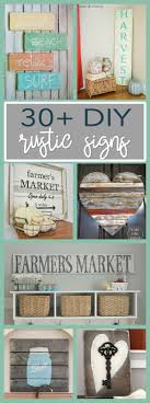 wood sign glass decor wooden kitchen wall: here weve compiled a round up of  diy rustic sign projects