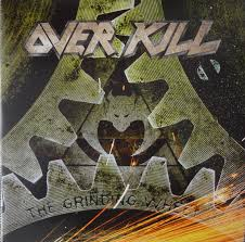 <b>Overkill - The Grinding</b> Wheel (2017, Yellow with Black Splatter ...