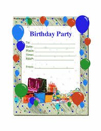 party invitations templates balloon clip art printable card invitations for party colorful theme design inspirations