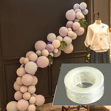 AJP 100pcs/lot <b>Removable Balloon Glue Wedding</b> Birthday ...