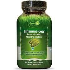 Irwin Naturals <b>Inflamma</b>-<b>Less 80 гелевых капсул</b> – отзывы, купить с ...